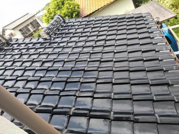 【リフォーム中】外壁塗装予定です。屋根は和瓦のため塗装は必要ありませんが、雨漏り点検などを行う予定です。