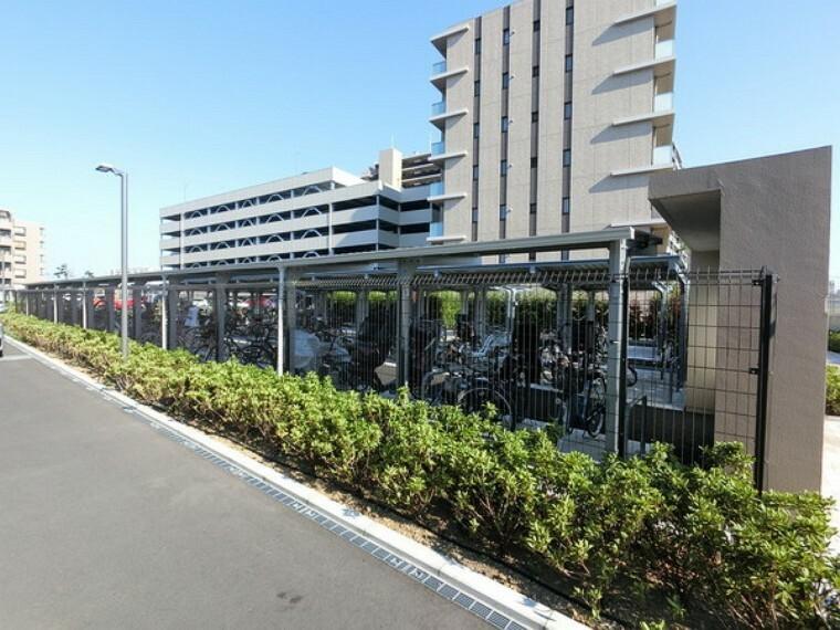 便利な駐輪場・バイク置場も完備しています