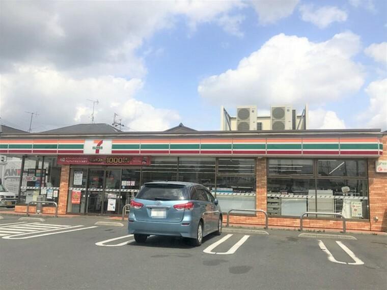 コンビニ セブンイレブン松戸大金平2丁目店 ちょっとしたお買い物に便利なコンビニ!