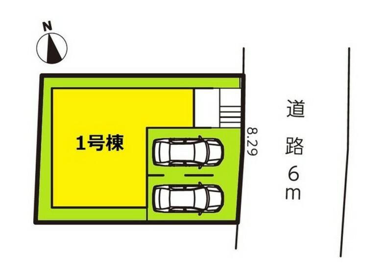 区画図 区画図 【名古屋市南区内田橋2丁目】