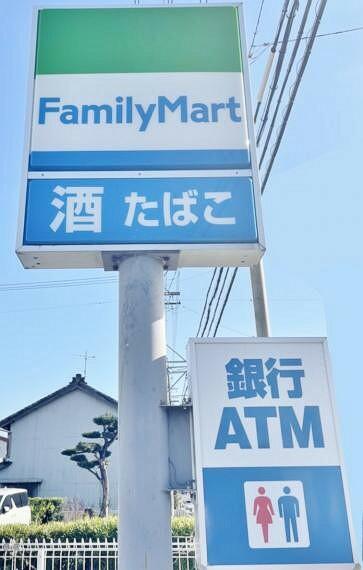 コンビニ ファミリーマート 津島越津町店