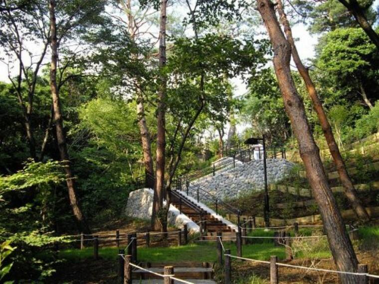 公園 【公園】成城四丁目緑地まで855m