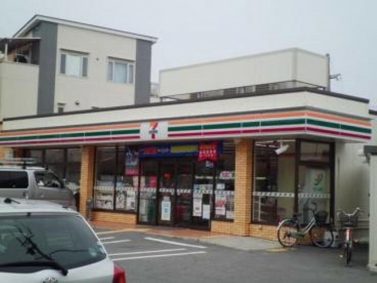 コンビニ 【コンビニエンスストア】セブンイレブン 尼崎園田学園前店まで601m