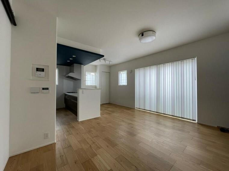 居間・リビング ~living room~  家族と過ごす時間を大切にした住空間