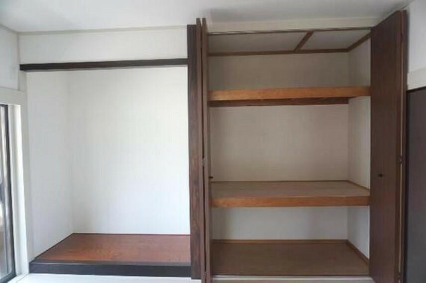収納 収納がございますので、居室スペースを有効にご利用頂けます。