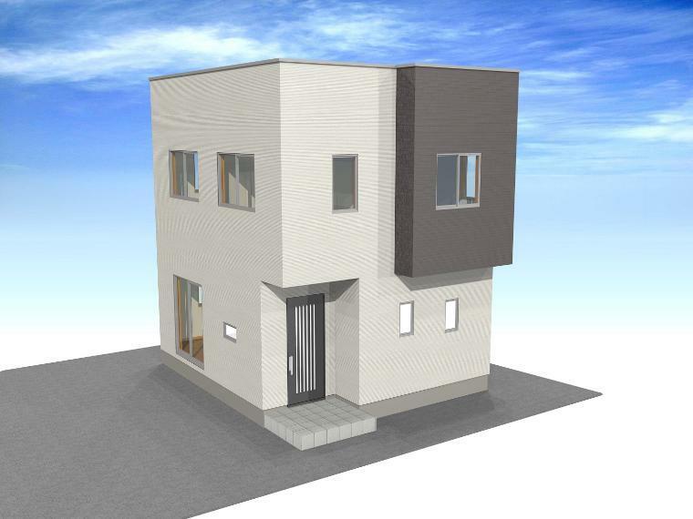 完成予想図(外観) 白銀台1丁目A-2 外観パース 販売価格:1912万円