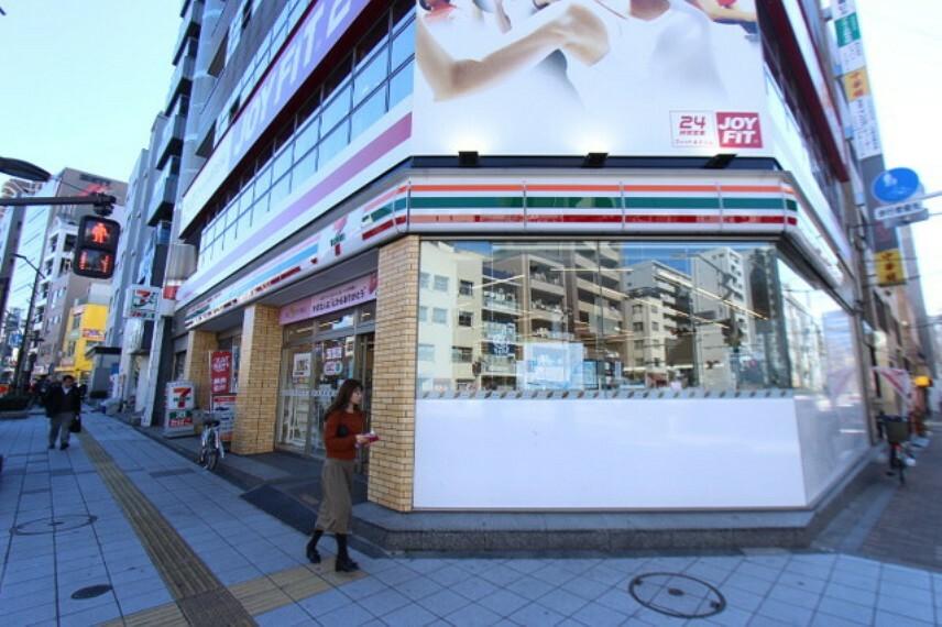 コンビニ セブンイレブン台東浅草橋3丁目店