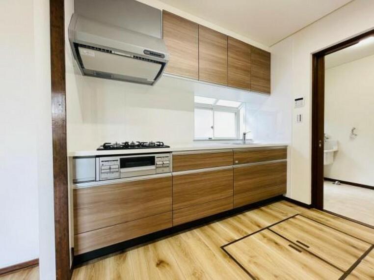 キッチン 音や匂いを気にせずお料理できる独立キッチン