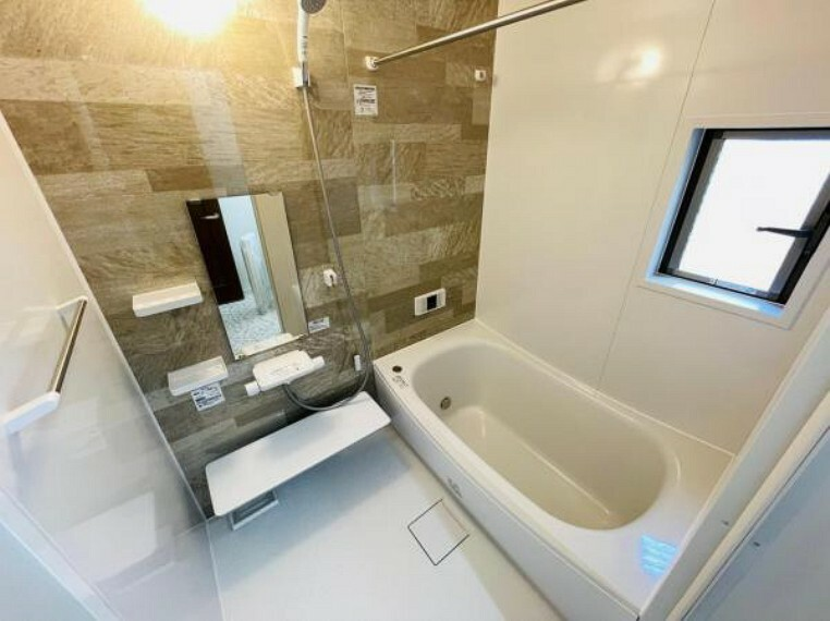 浴室 お子様と一緒にバスタイムを楽しめる広い浴室