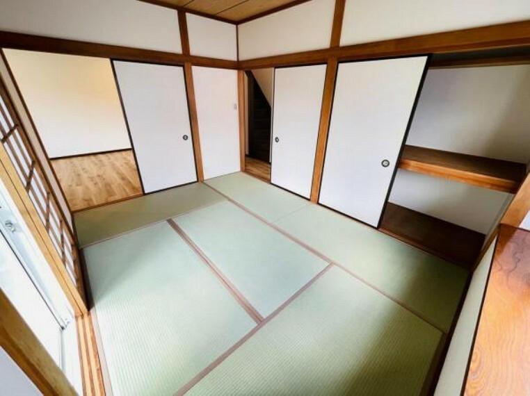 収納 寝具もすっきり収納できる押し入れ付き和室