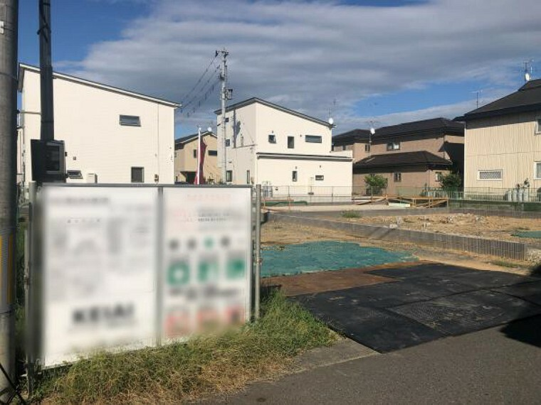 現況外観写真 大槻中学校徒歩約1分でお子さんにも嬉しい立地です!(8月28日撮影写真)