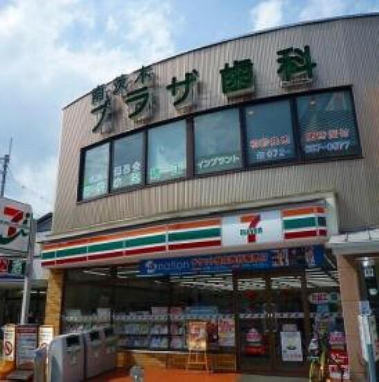 コンビニ 【コンビニエンスストア】セブンイレブン 茨木東奈良3丁目店まで729m