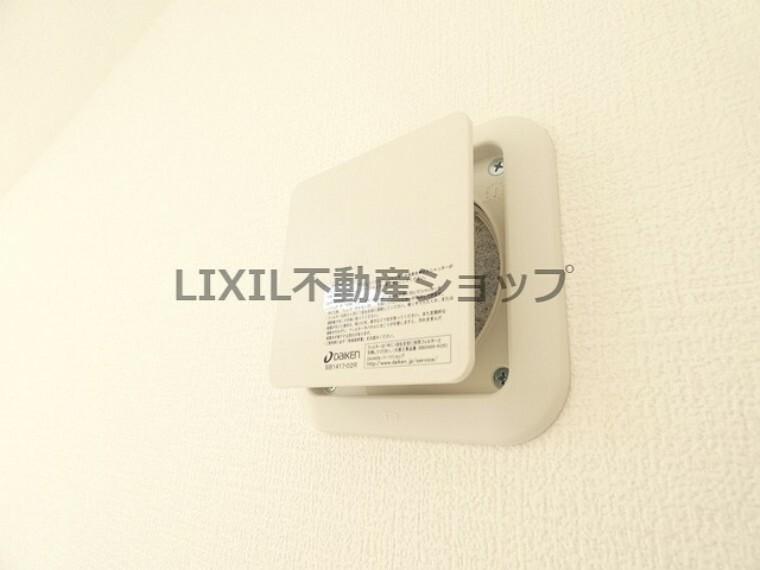 冷暖房・空調設備 全居室換気口