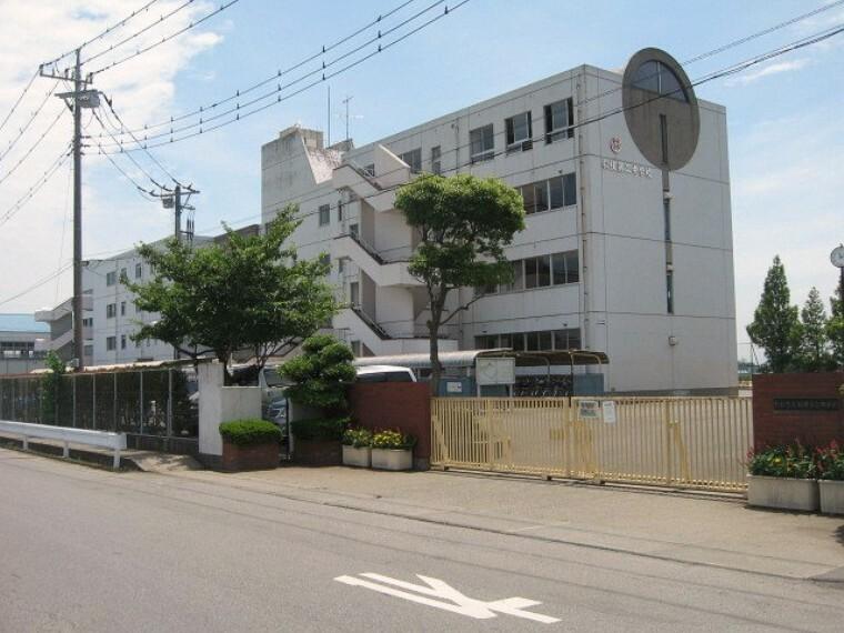 中学校 【中学校】松伏町立松伏第二中学校まで1112m