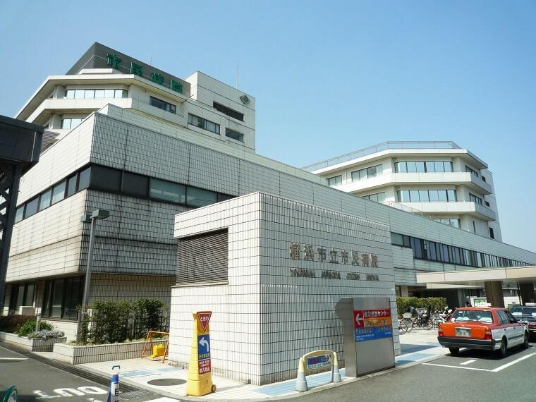 病院 横浜市立市民病院(地域医療支援病院の承認を受ける他、地域周産期母子医療センター、災害拠点病院などの機能を有する病院。)