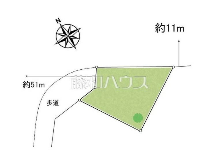 区画図 区画図 【昭島市緑町5丁目】