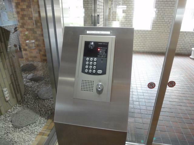 玄関 オートロック操作盤