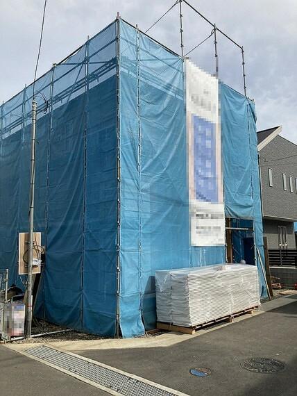 現況外観写真 2021年10月下旬完成予定の新築戸建です。