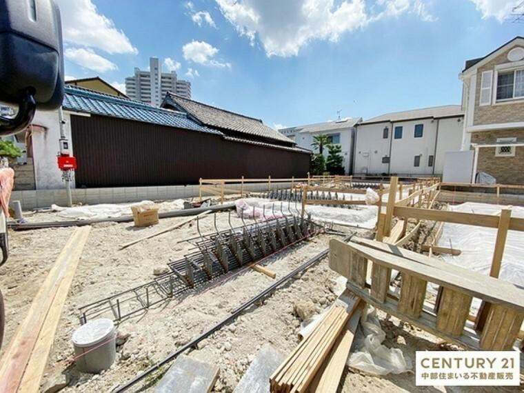 現況外観写真 安城市【大東町】全3棟新築分譲住宅。ご予約の上、現地案内会実施中!お気軽にお問い合わせください。