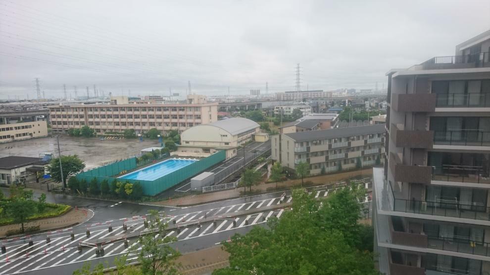 現況写真 現地7階からの眺望