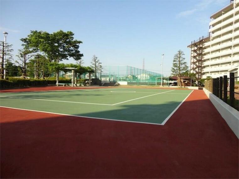 現況写真 テニスコート