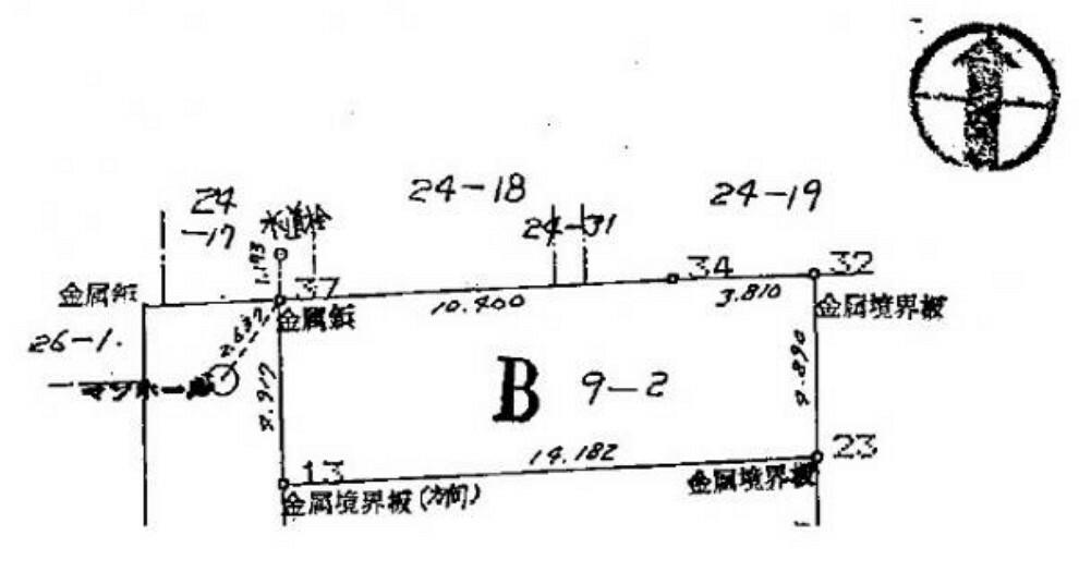区画図 図面