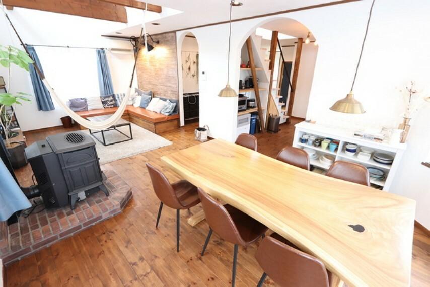 居間・リビング 【Living room】LDK21.5帖!ゆったりとしたスペースでインテリショップにいるようです!