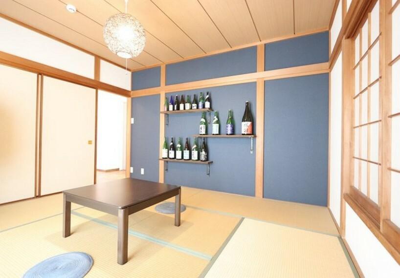 洋室 【japanese room】客間としても使えるプライベート感のる和室は8帖!収納もたっぷりございます!