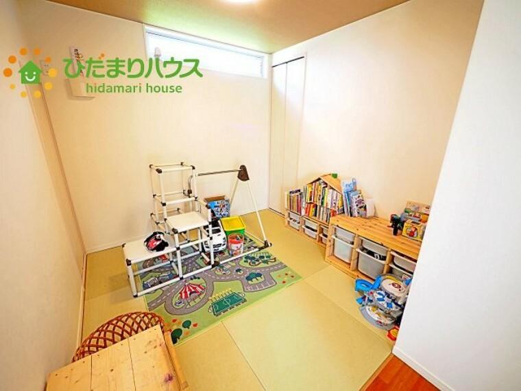 和室 赤ちゃんスペースや客間など、多彩な用途で使用できる和室