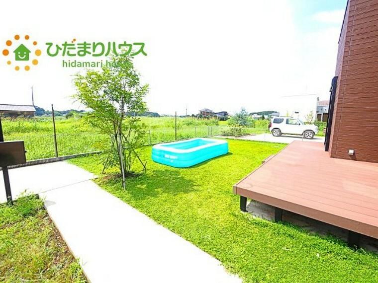 庭 家族みんなで広~いお庭でバーベキューが楽しめます(^^