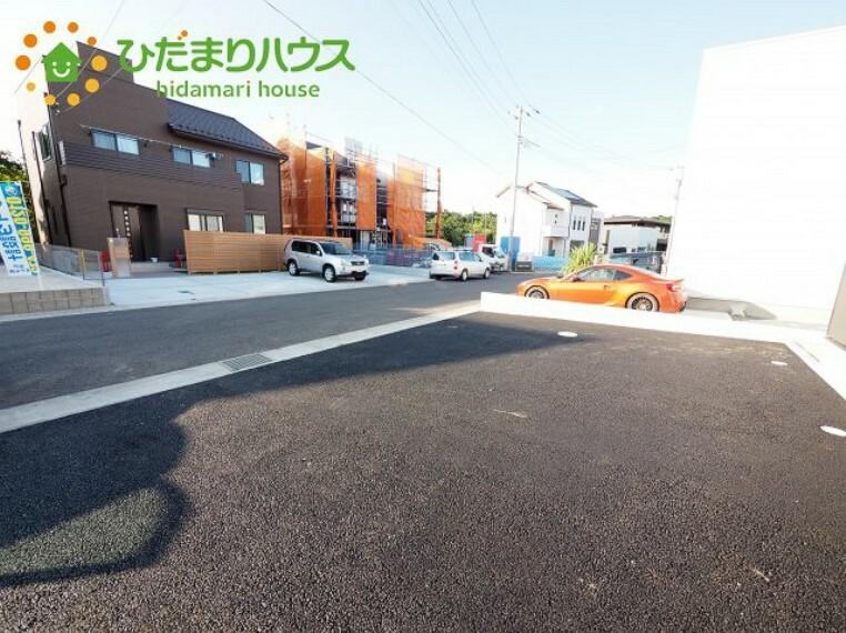 駐車場 急な来客も安心の駐車スペース(^^