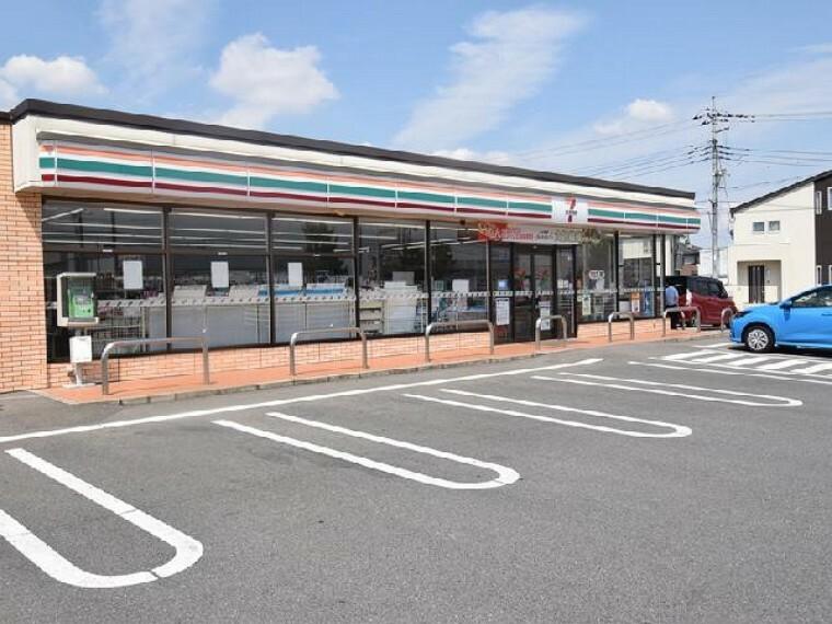 セブンイレブン高崎倉賀野町正六店・・・徒歩7分!お散歩がてらに立ち寄れる距離です。