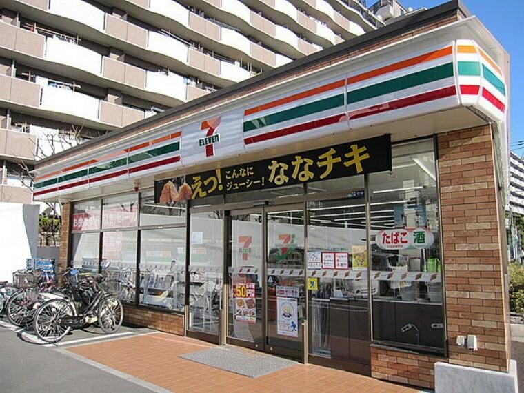 コンビニ セブンイレブン市川鬼高3丁目店