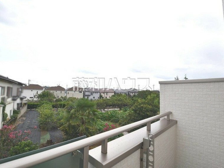 外観・現況 2号棟 住戸からの眺望写真 【狛江市東野川4丁目】