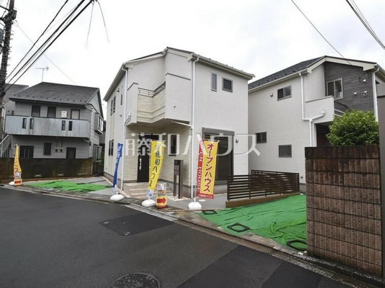 現況写真 接道状況および現場風景 【狛江市東野川4丁目】