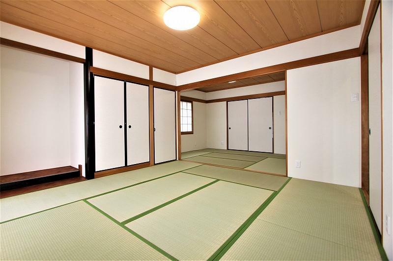 和室 8帖+6帖の二間続きの和室です。