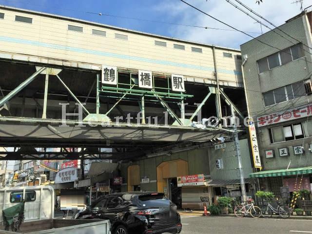 周辺の街並み 大阪環状線 鶴橋駅