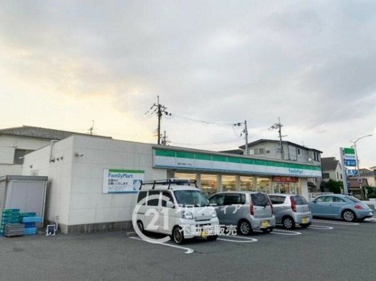 コンビニ ファミリーマート 寝屋川高柳二丁目店