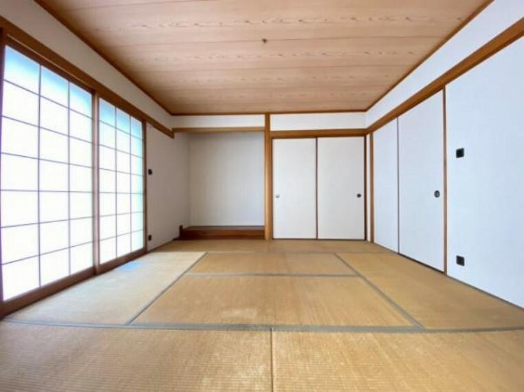 寝室 ゆとりのある和室です!