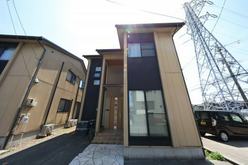 外観写真 国道8号線や50m道路、金沢駅へのアクセス良好です。