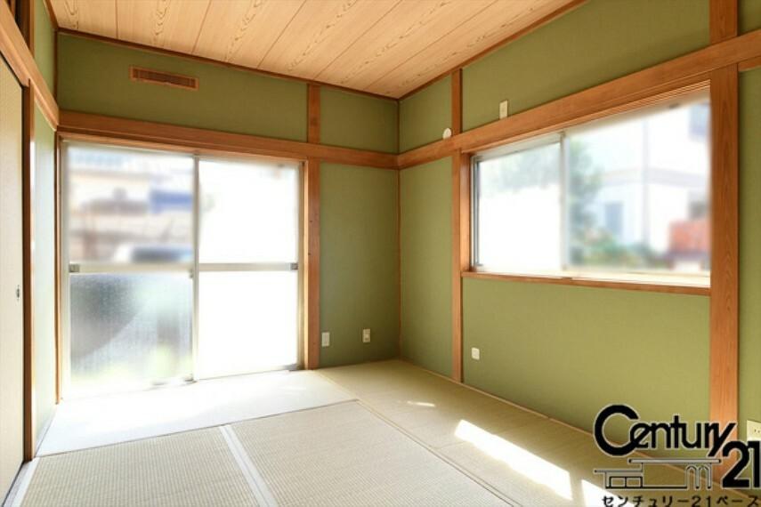和室 ■現地撮影写真■続間の広々した和室です!