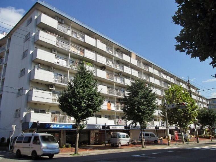 外観写真 地下鉄東野駅徒歩2分のマンションです!