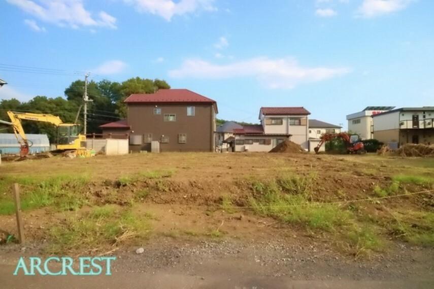現況写真 西武新宿線「新狭山」駅徒歩8分。