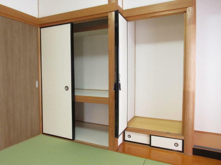 和室 和室には便利な押入付き!