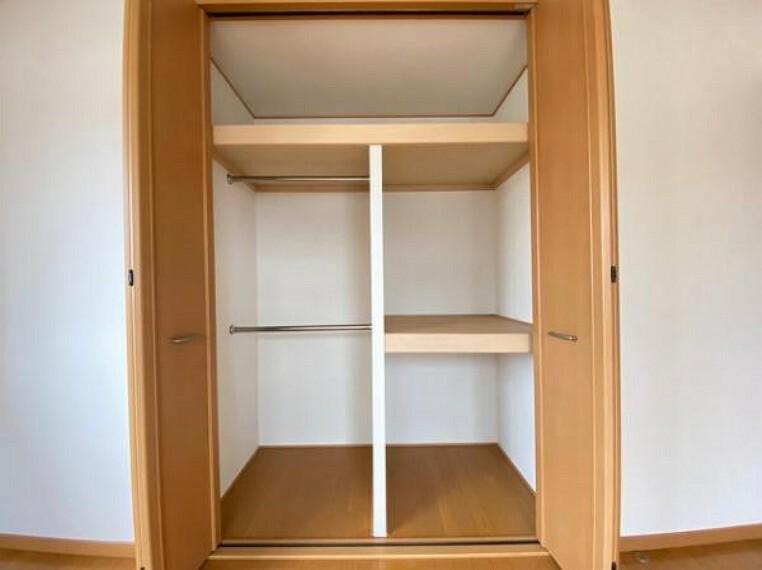 収納 収納スペースが充実したお部屋です
