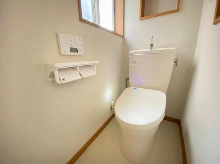 トイレ ウォシュレット付きトイレで快適!
