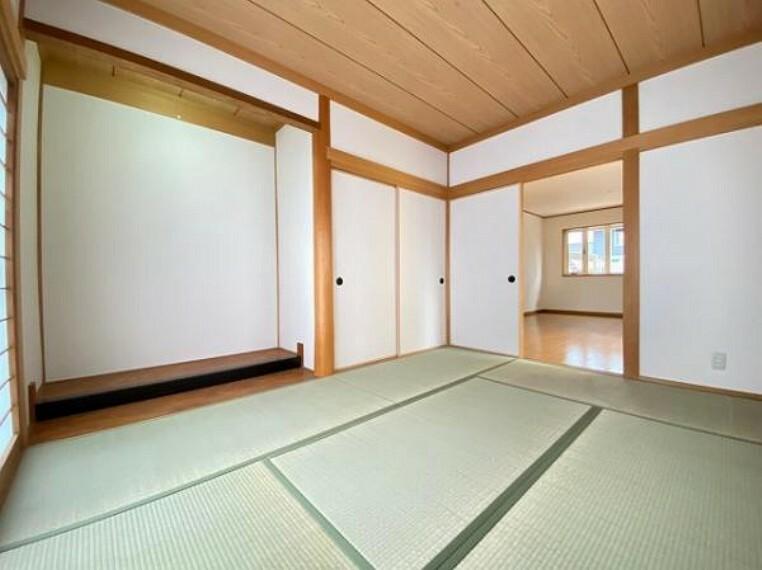 和室 い草香る和室です