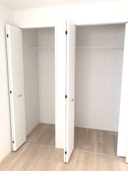 洋室 7.5帖洋室のクローゼットです。