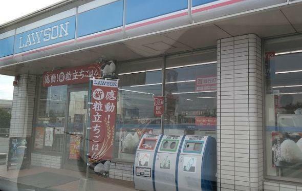 コンビニ ローソン小山東黒田店