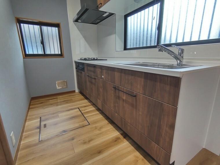 キッチン 快適な新生活を迎えられそうな、新品のキッチンです。